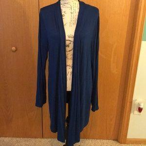 Pretty soft blue knit cardigan